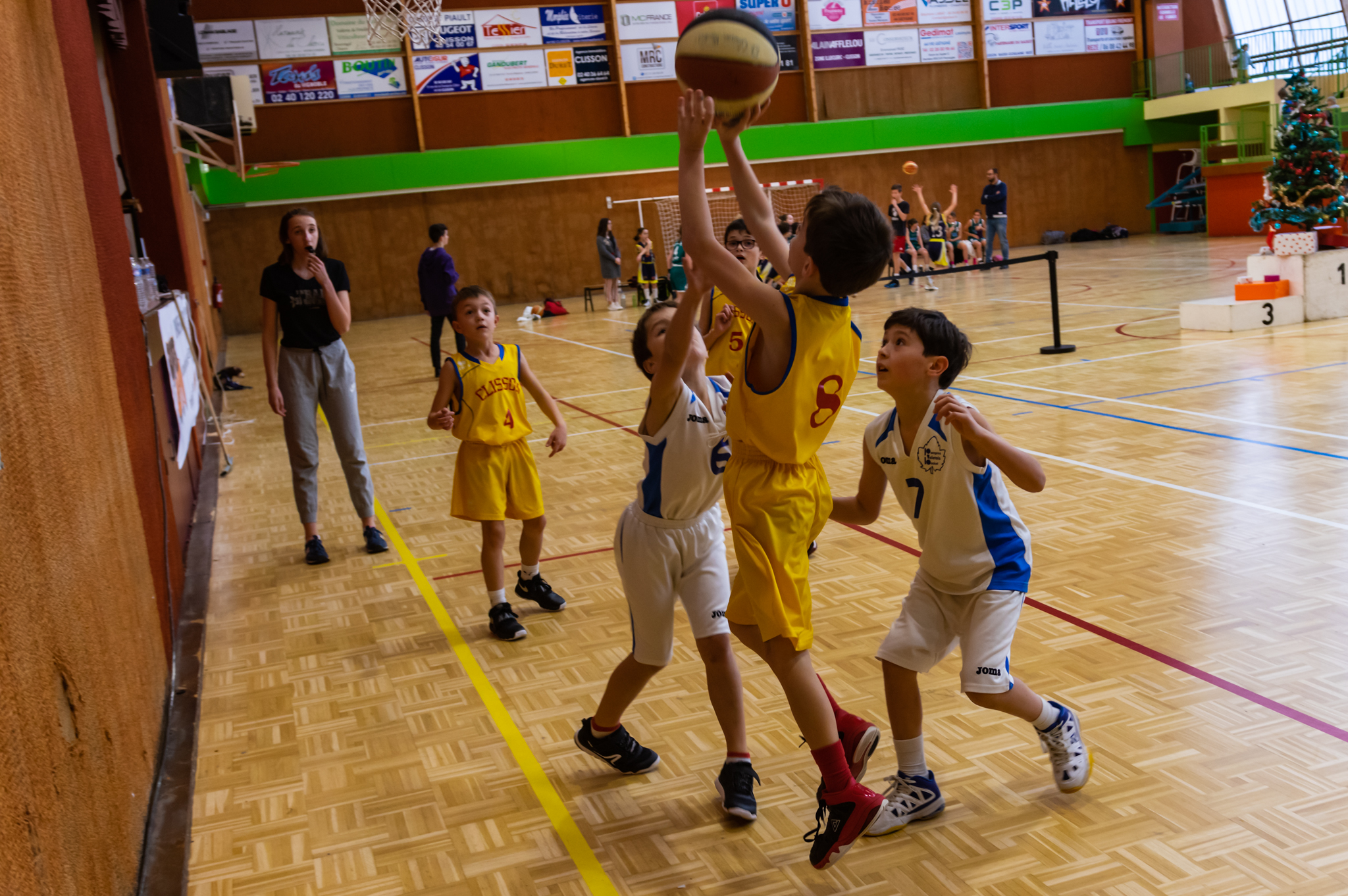 Etoile de Clisson Basket - 2018/2019 - Tournoi de Noël jour 2 : U9 / U11